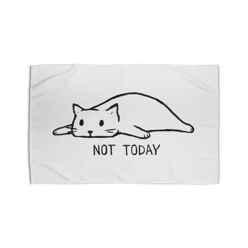 Not Today Home Rug by Fox Shiver's Artist Shop