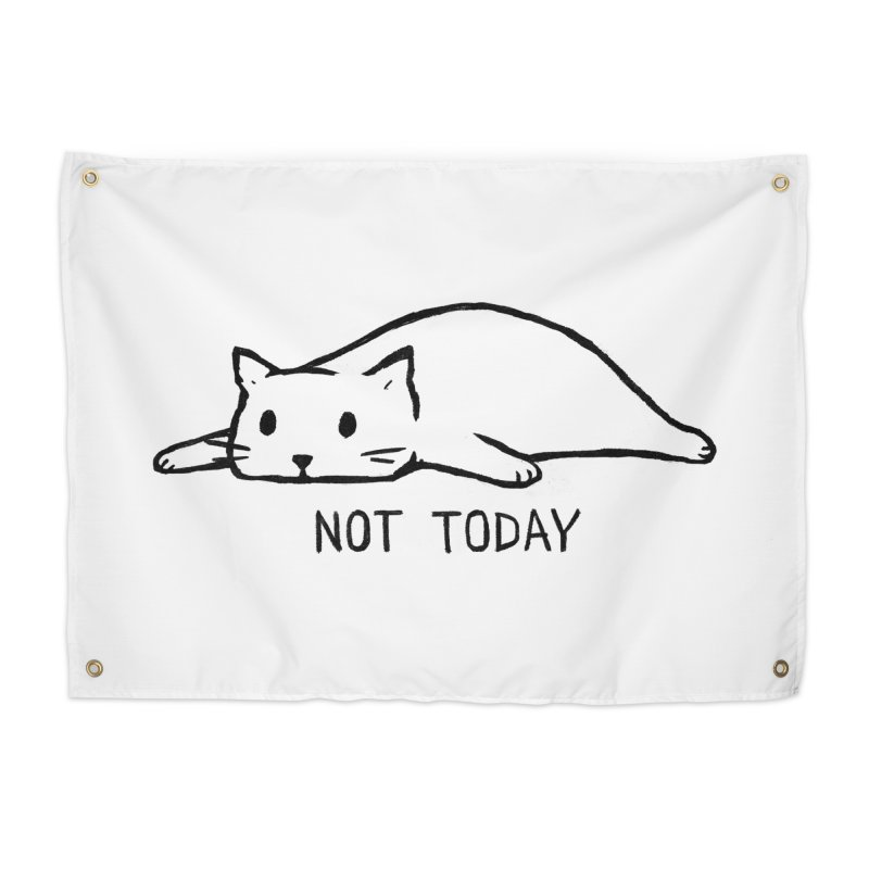 Not Today Home Tapestry by Fox Shiver's Artist Shop