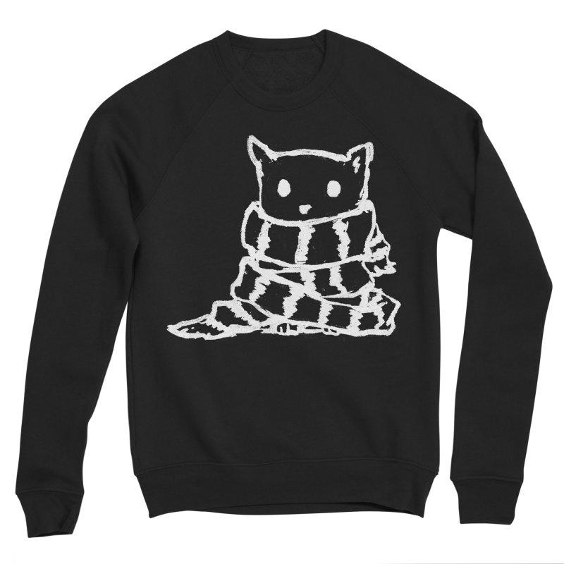 Keep Me Warm (Black) Men's Sweatshirt by Fox Shiver's Artist Shop