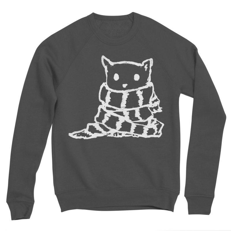 Keep Me Warm (Black) Men's Sponge Fleece Sweatshirt by Fox Shiver's Artist Shop