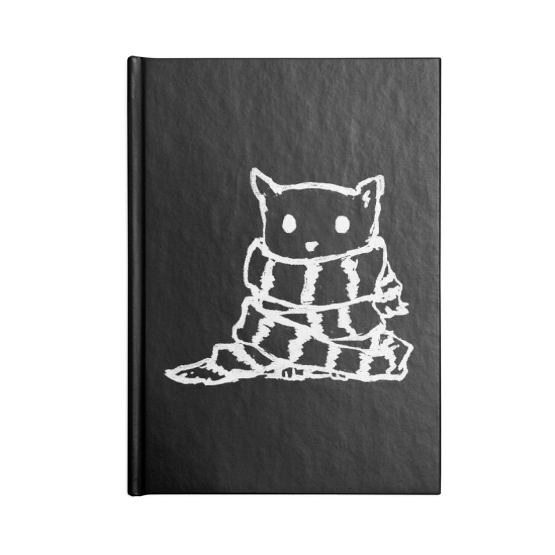 Keep Me Warm (Black) Accessories Notebook by Fox Shiver's Artist Shop