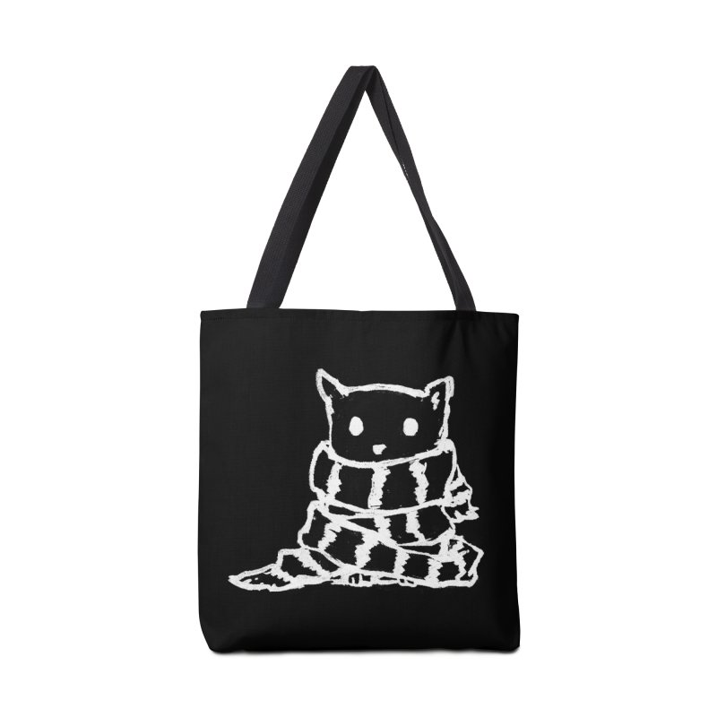 Keep Me Warm (Black) Accessories Bag by Fox Shiver's Artist Shop
