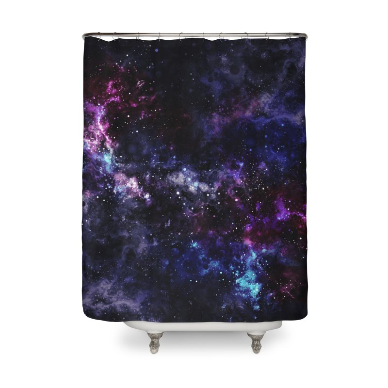 Inconceivably Vast Home Shower Curtain by Fox Shiver