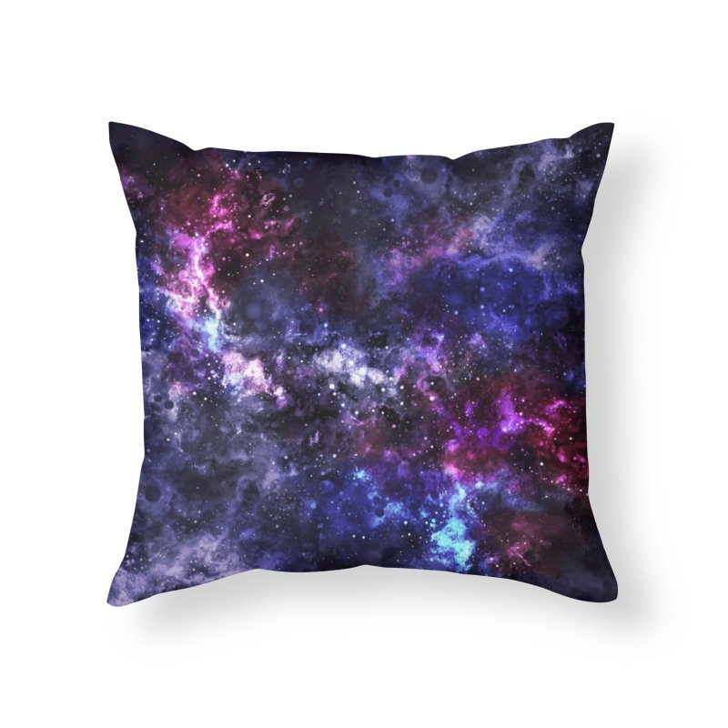 Inconceivably Vast Home Throw Pillow by Fox Shiver