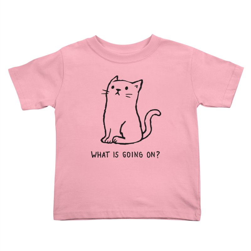 What Is Going On? Kids Toddler T-Shirt by Fox Shiver's Artist Shop