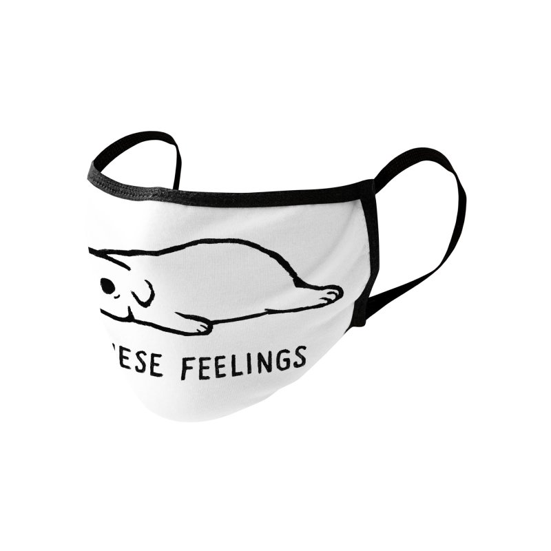 All These Feelings Accessories Face Mask by Fox Shiver