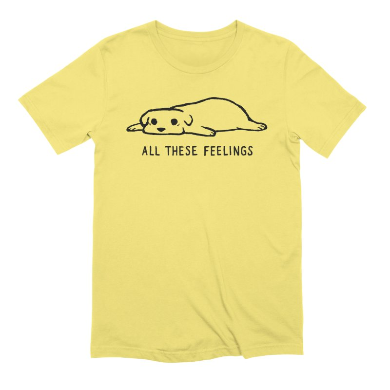All These Feelings Men's T-Shirt by Fox Shiver