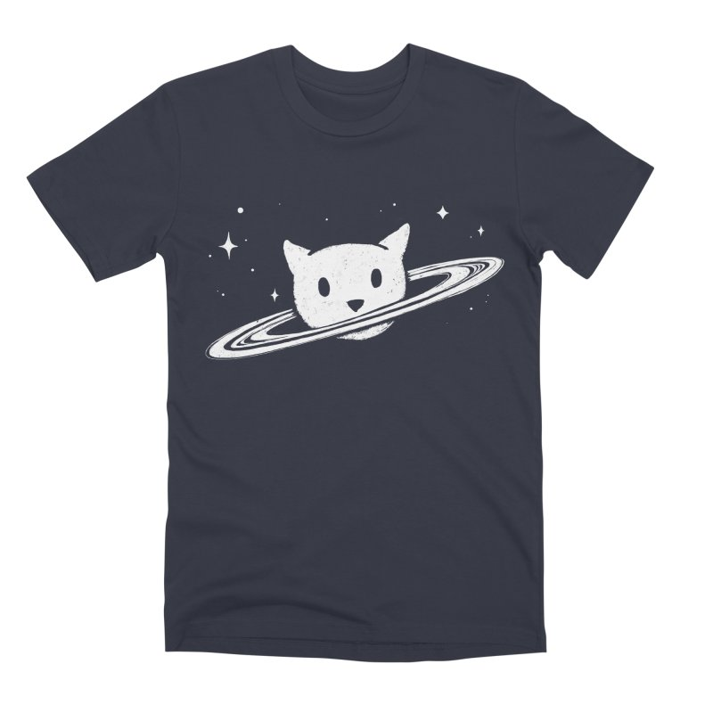 Saturn the Cat Men's Premium T-Shirt by Fox Shiver's Artist Shop