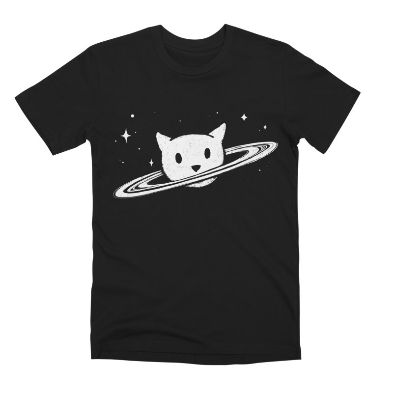 Saturn the Cat Men's Premium T-Shirt by Fox Shiver's Artist Shop