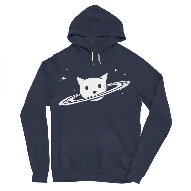 Saturn the Cat Women's Sponge Fleece Pullover Hoody by Fox Shiver's Artist Shop