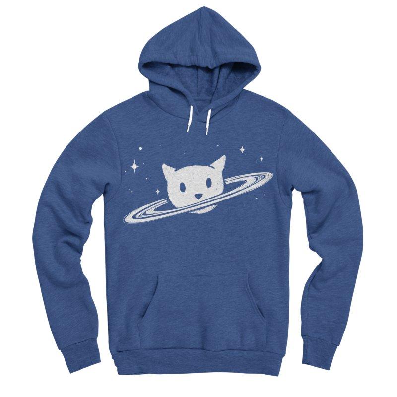 Saturn the Cat Men's Sponge Fleece Pullover Hoody by Fox Shiver's Artist Shop