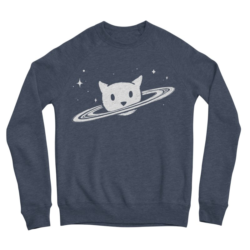 Saturn the Cat Men's Sponge Fleece Sweatshirt by Fox Shiver's Artist Shop