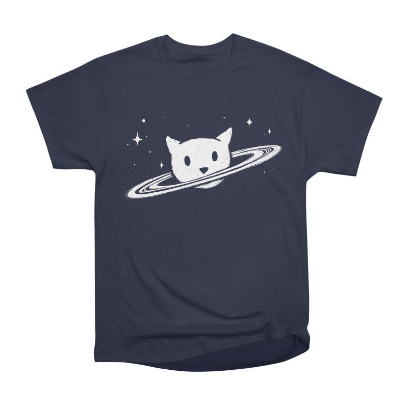 Saturn the Cat Women's Heavyweight Unisex T-Shirt by Fox Shiver's Artist Shop