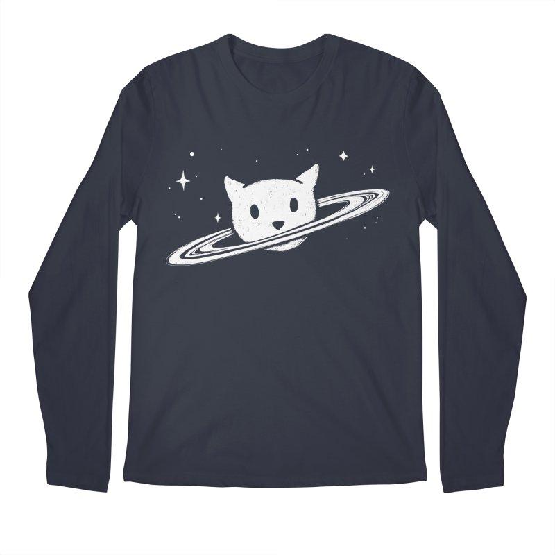 Saturn the Cat Men's Regular Longsleeve T-Shirt by Fox Shiver's Artist Shop