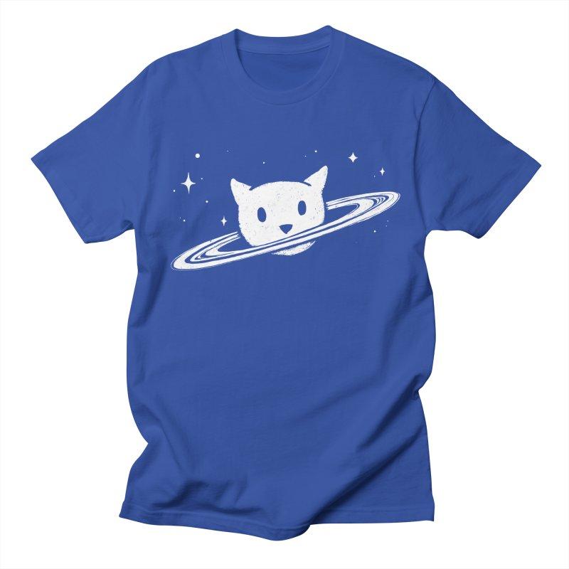 Saturn the Cat Women's Regular Unisex T-Shirt by Fox Shiver's Artist Shop