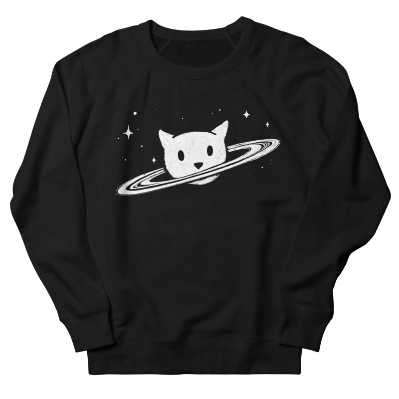 Saturn the Cat Women's French Terry Sweatshirt by Fox Shiver's Artist Shop
