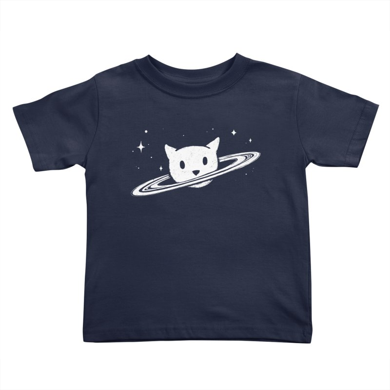 Saturn the Cat Kids Toddler T-Shirt by Fox Shiver's Artist Shop