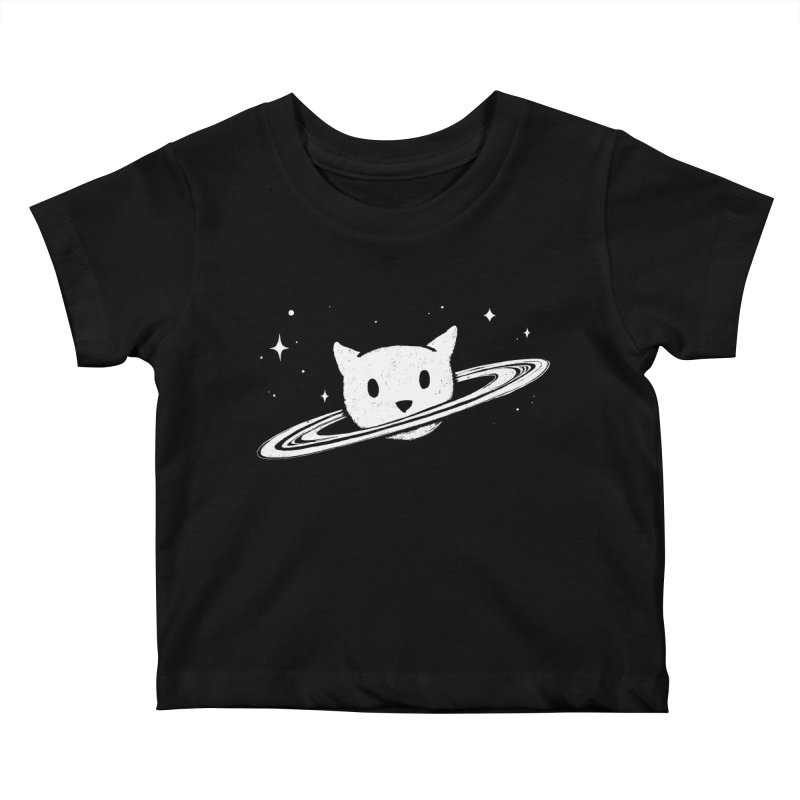 Saturn the Cat Kids Baby T-Shirt by Fox Shiver's Artist Shop