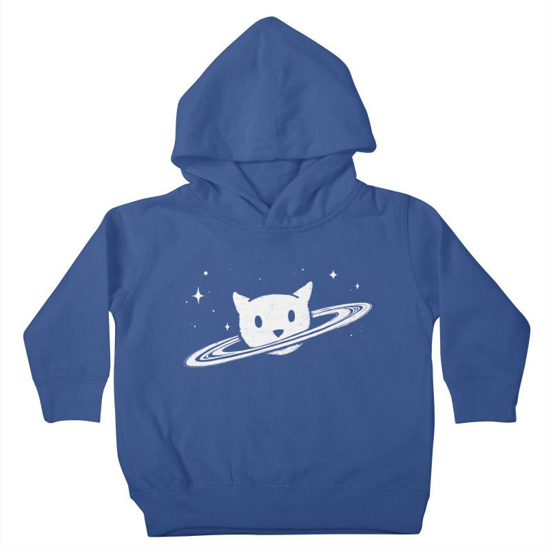 Saturn the Cat Kids Toddler Pullover Hoody by Fox Shiver's Artist Shop