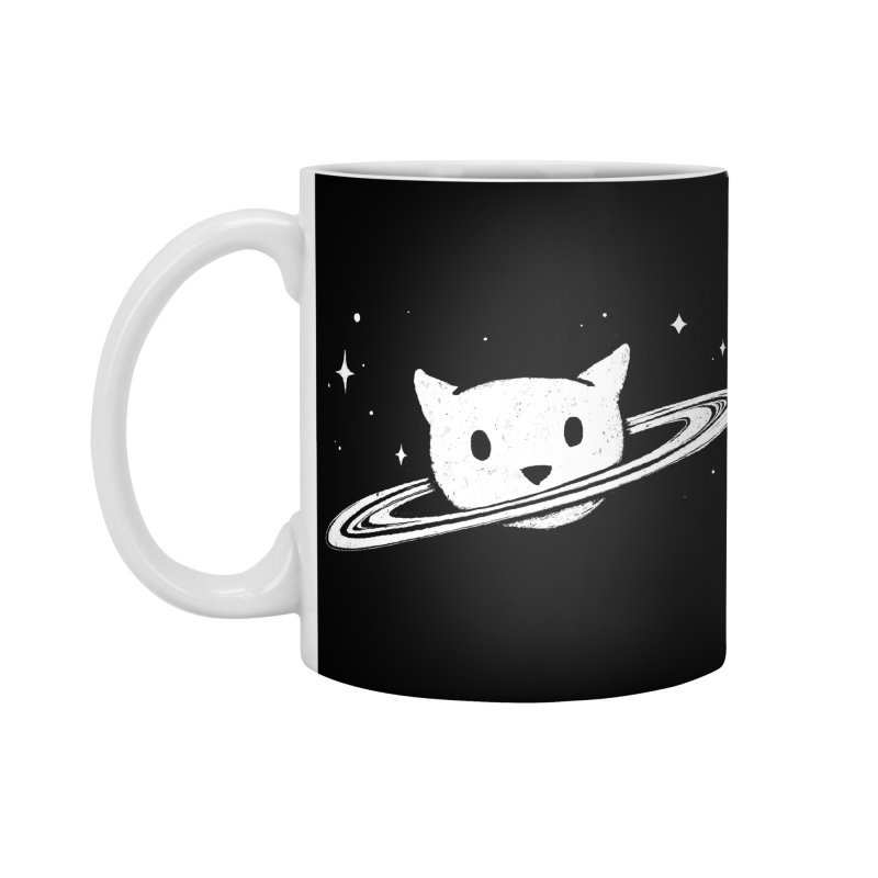 Saturn the Cat Accessories Standard Mug by Fox Shiver's Artist Shop