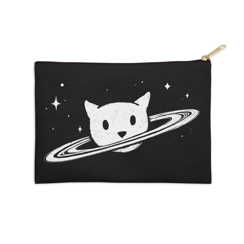 Saturn the Cat Accessories Zip Pouch by Fox Shiver's Artist Shop