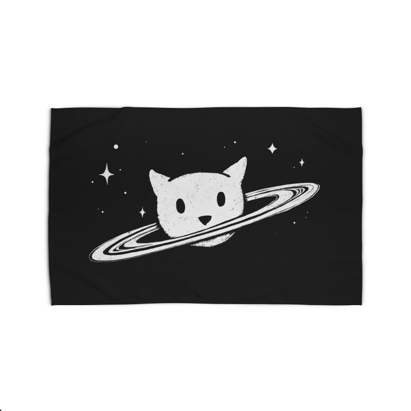 Saturn the Cat Home Rug by Fox Shiver's Artist Shop