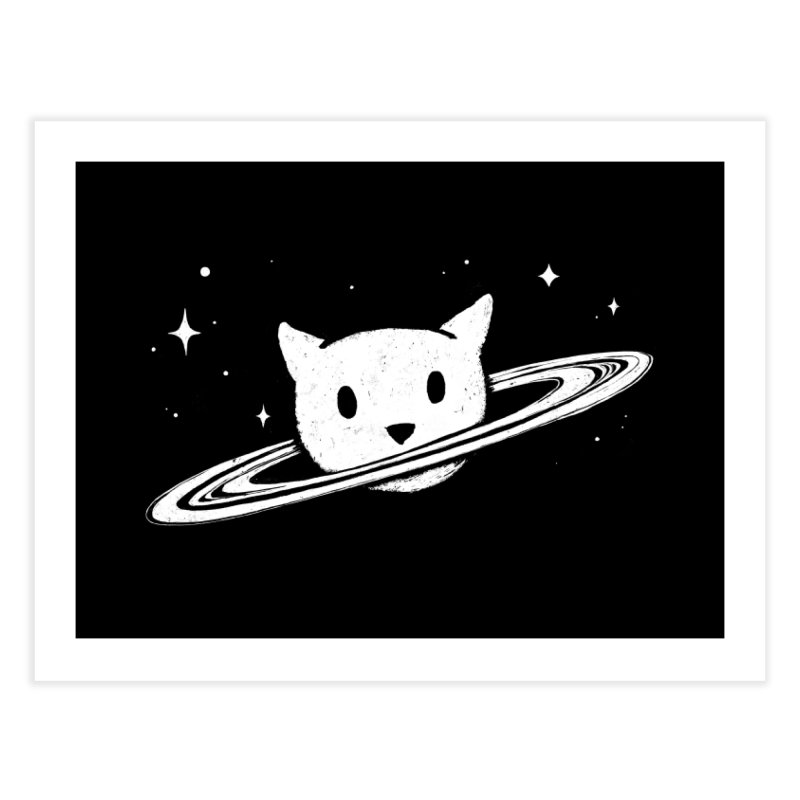 Saturn the Cat Home Fine Art Print by Fox Shiver's Artist Shop