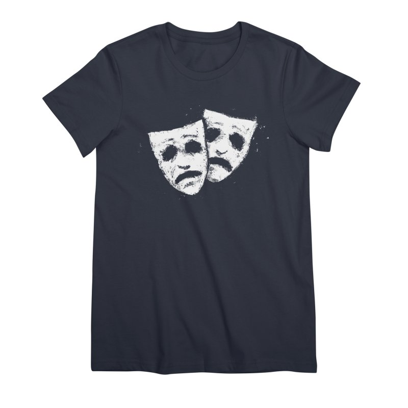 Nothing to Laugh About Women's Premium T-Shirt by Fox Shiver's Artist Shop