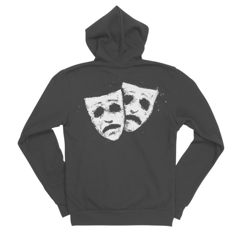 Nothing to Laugh About Women's Sponge Fleece Zip-Up Hoody by Fox Shiver's Artist Shop
