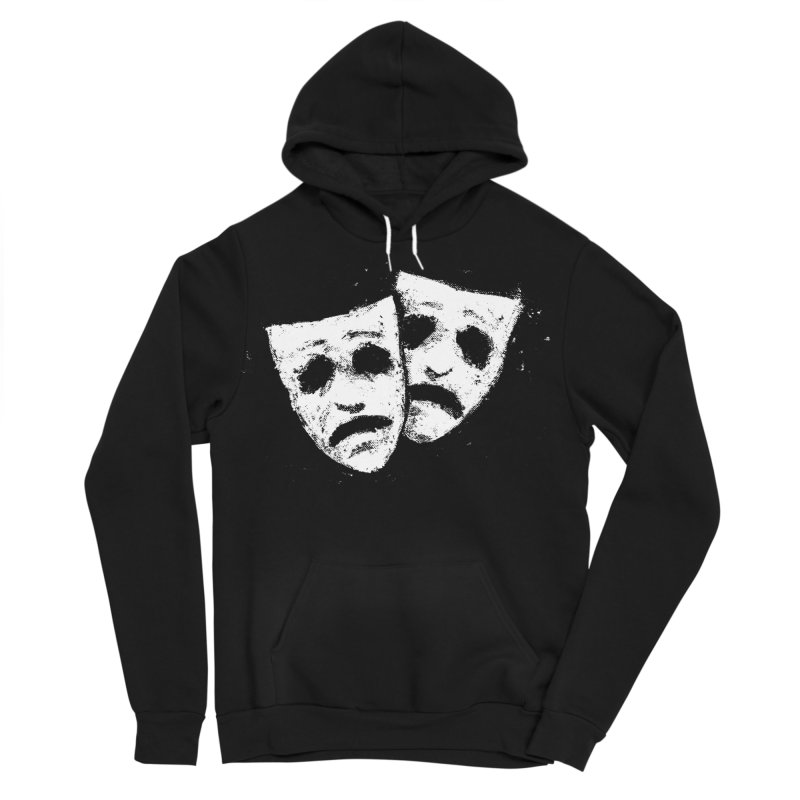 Nothing to Laugh About Men's Sponge Fleece Pullover Hoody by Fox Shiver's Artist Shop