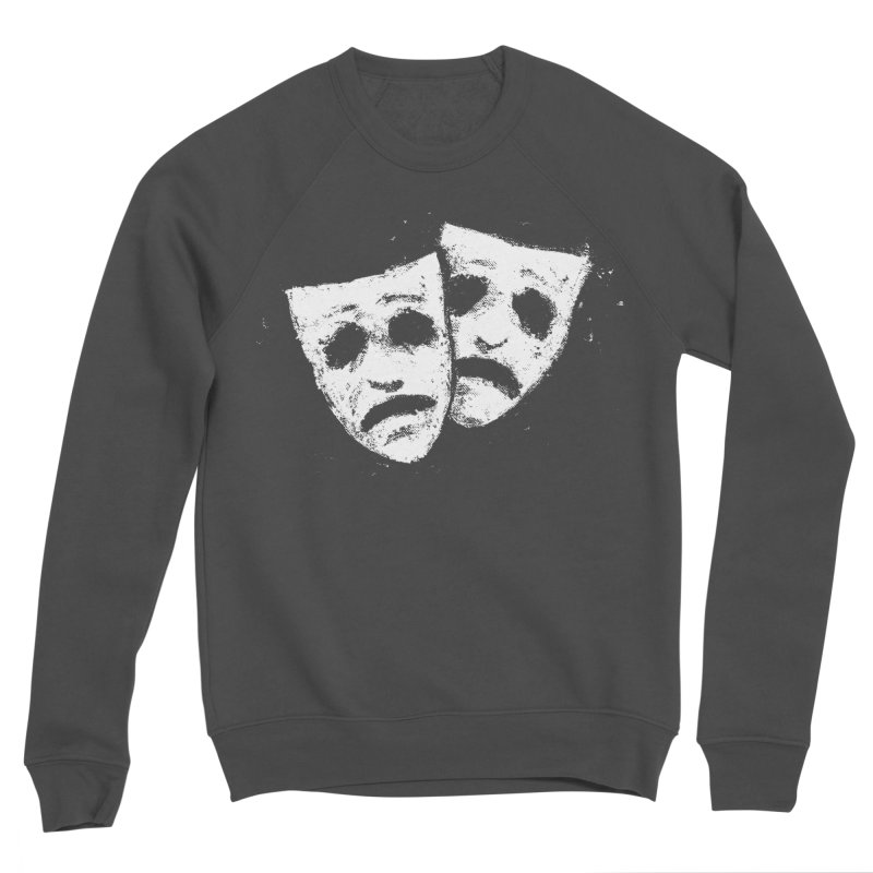 Nothing to Laugh About Men's Sponge Fleece Sweatshirt by Fox Shiver's Artist Shop