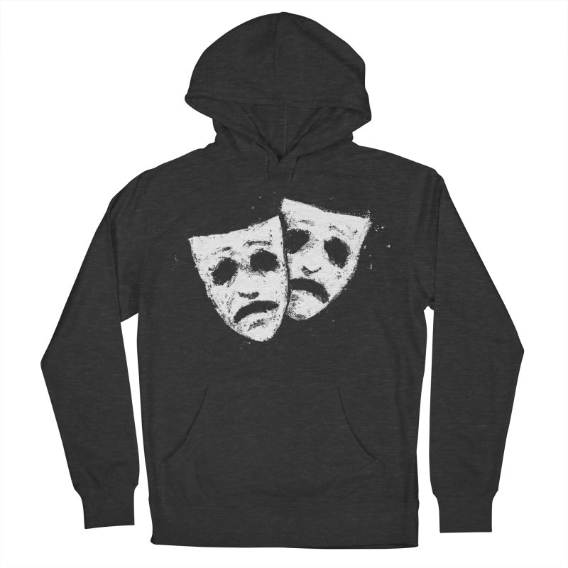 Nothing to Laugh About Men's French Terry Pullover Hoody by Fox Shiver's Artist Shop