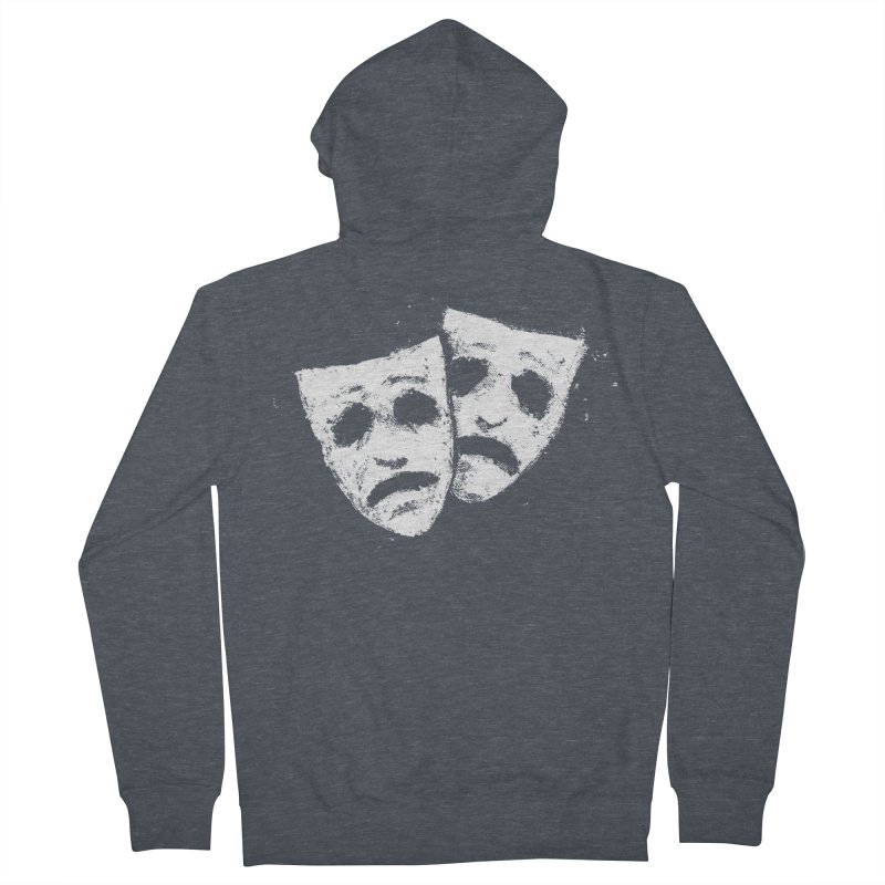 Nothing to Laugh About Women's French Terry Zip-Up Hoody by Fox Shiver's Artist Shop