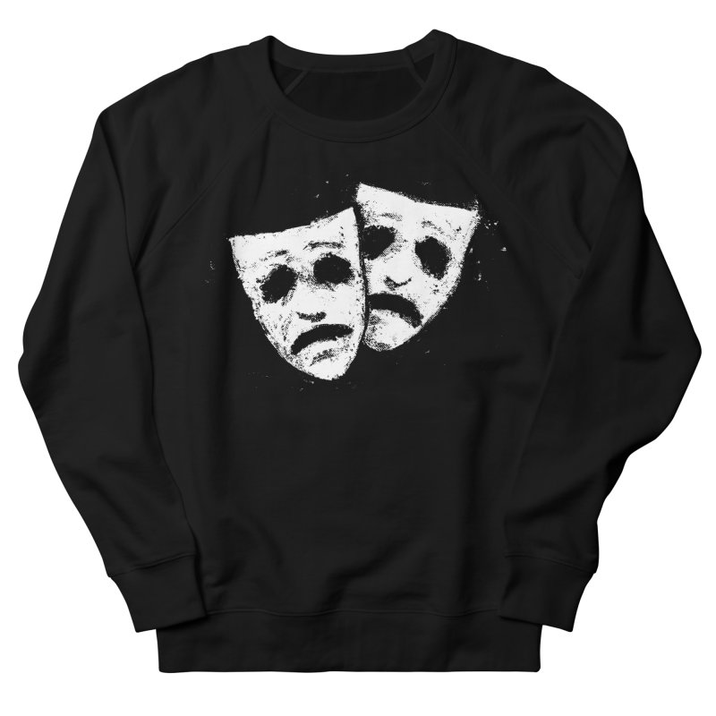 Nothing to Laugh About Men's French Terry Sweatshirt by Fox Shiver's Artist Shop