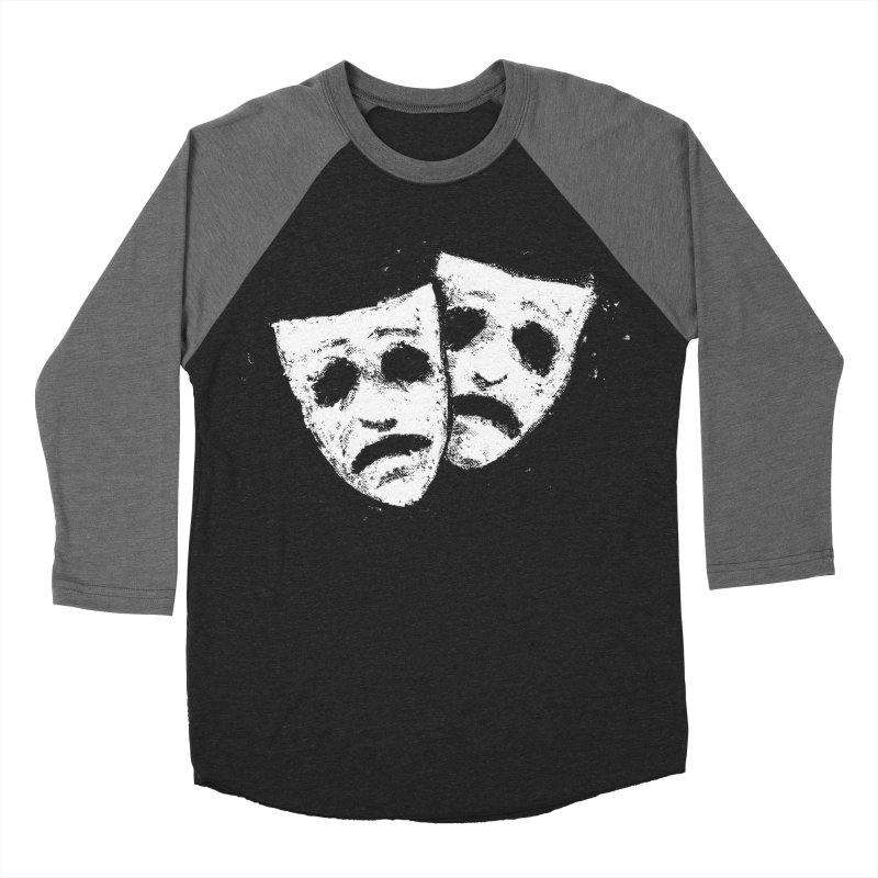 Nothing to Laugh About Men's Baseball Triblend Longsleeve T-Shirt by Fox Shiver's Artist Shop