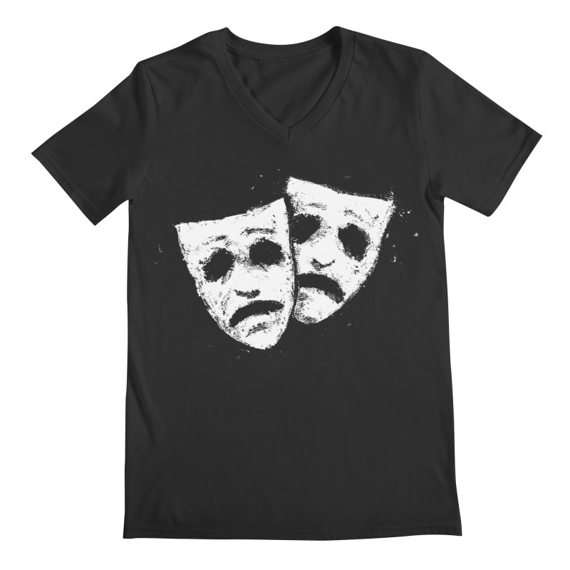 Nothing to Laugh About Men's Regular V-Neck by Fox Shiver's Artist Shop