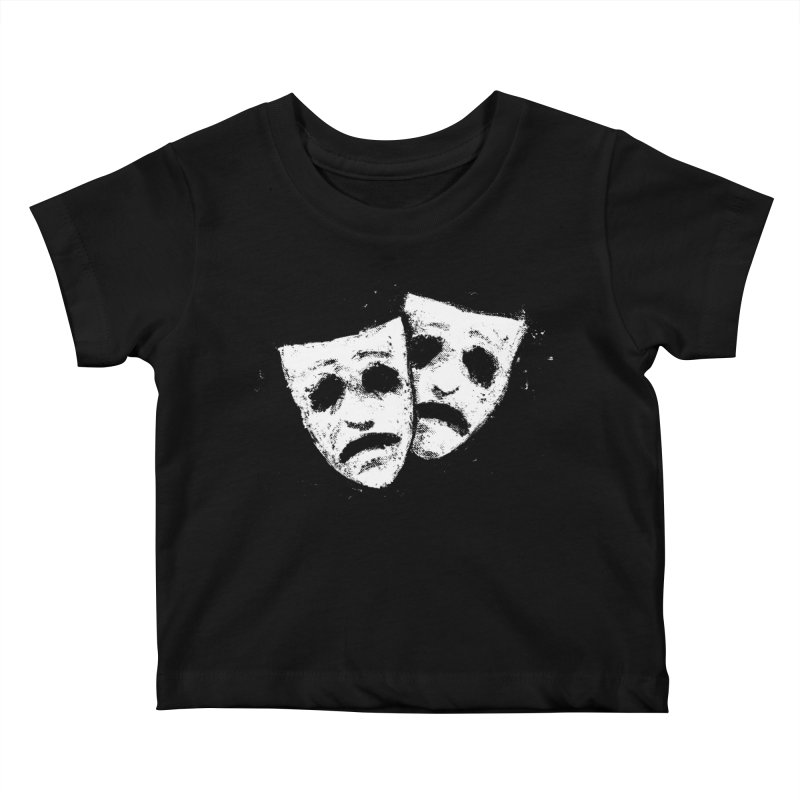 Nothing to Laugh About Kids Baby T-Shirt by Fox Shiver's Artist Shop