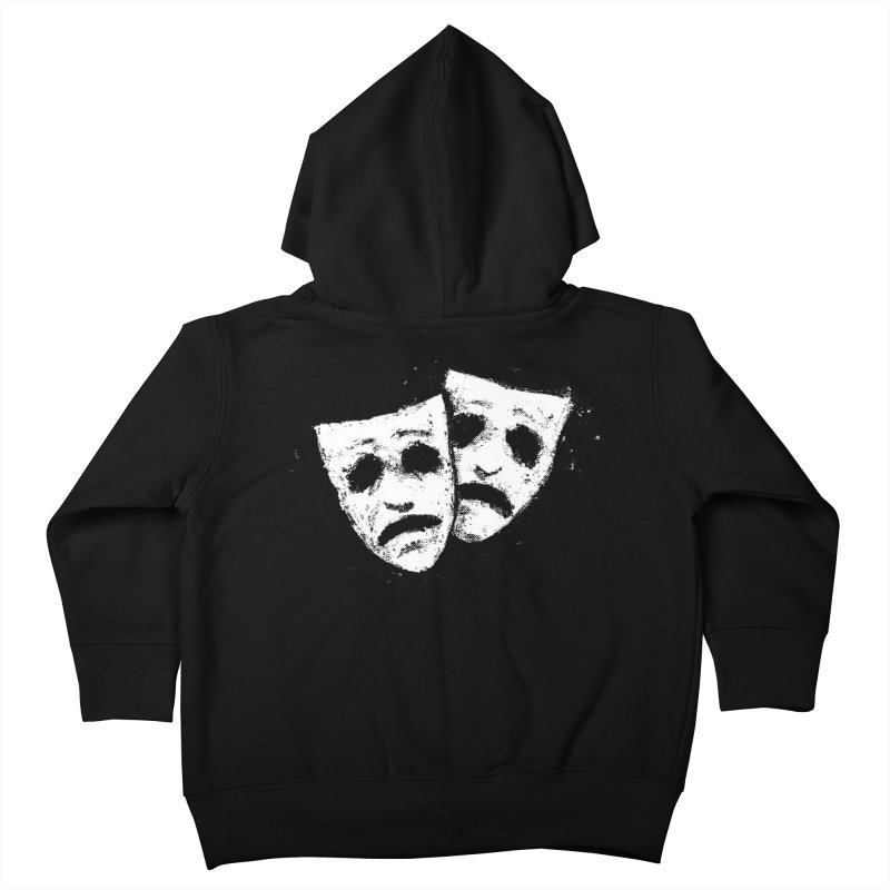 Nothing to Laugh About Kids Toddler Zip-Up Hoody by Fox Shiver's Artist Shop