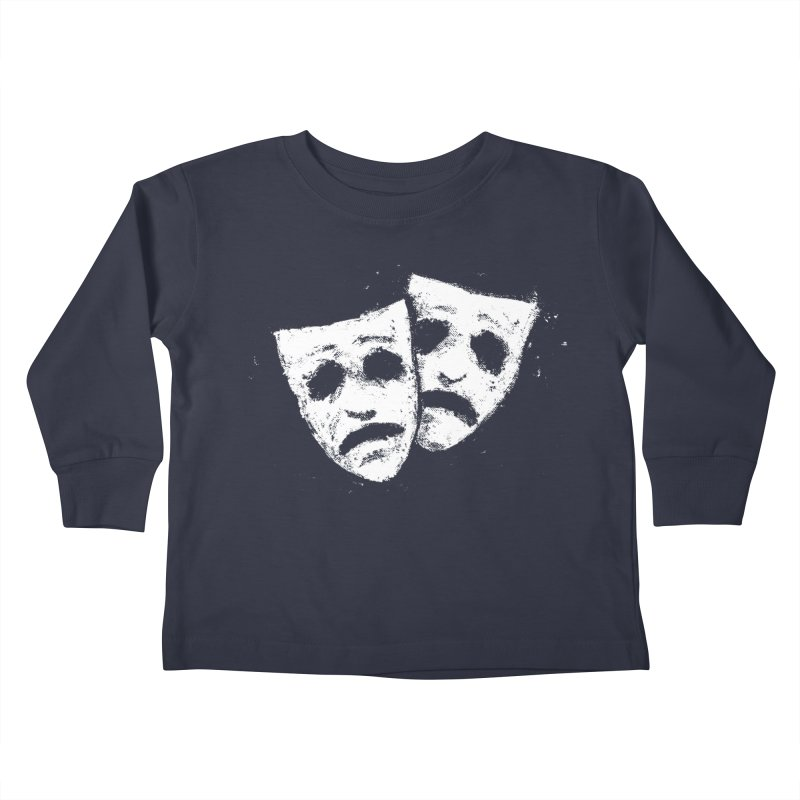 Nothing to Laugh About Kids Toddler Longsleeve T-Shirt by Fox Shiver's Artist Shop