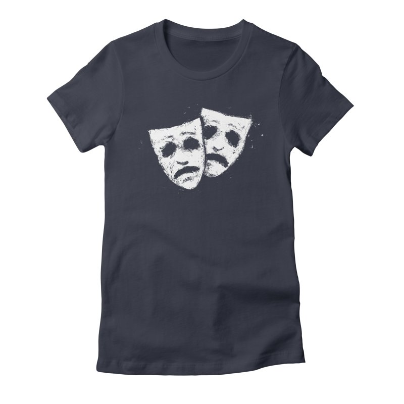 Nothing to Laugh About Women's Fitted T-Shirt by Fox Shiver's Artist Shop