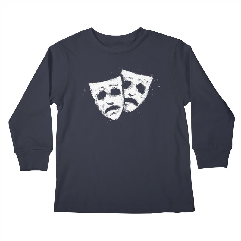 Nothing to Laugh About Kids Longsleeve T-Shirt by Fox Shiver's Artist Shop