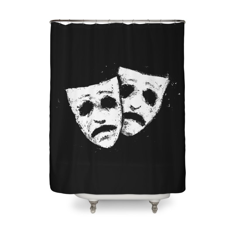 Nothing to Laugh About Home Shower Curtain by Fox Shiver's Artist Shop