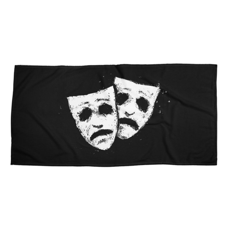 Nothing to Laugh About Accessories Beach Towel by Fox Shiver's Artist Shop