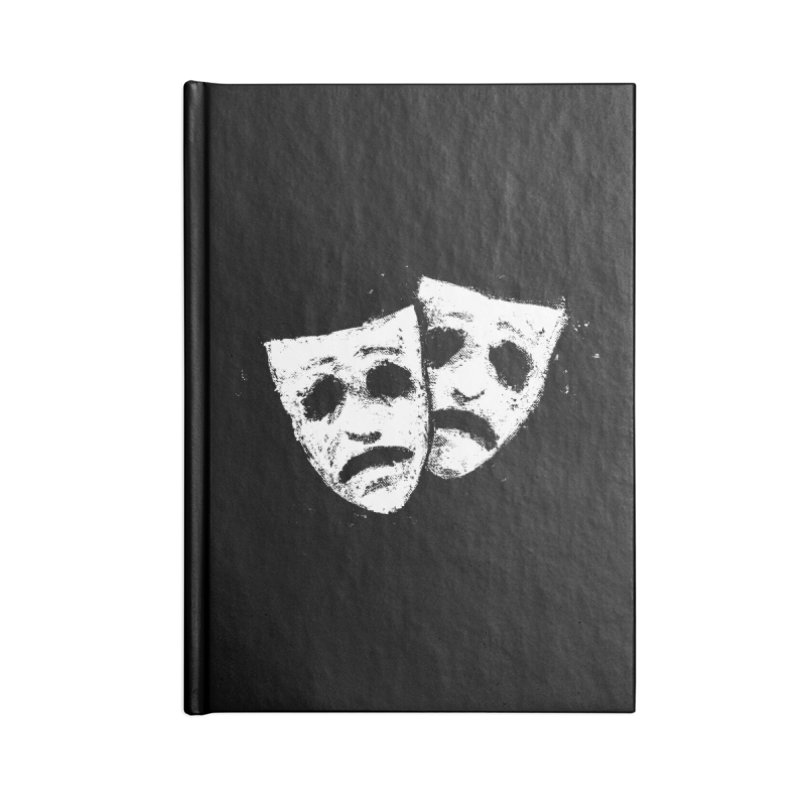 Nothing to Laugh About Accessories Blank Journal Notebook by Fox Shiver's Artist Shop