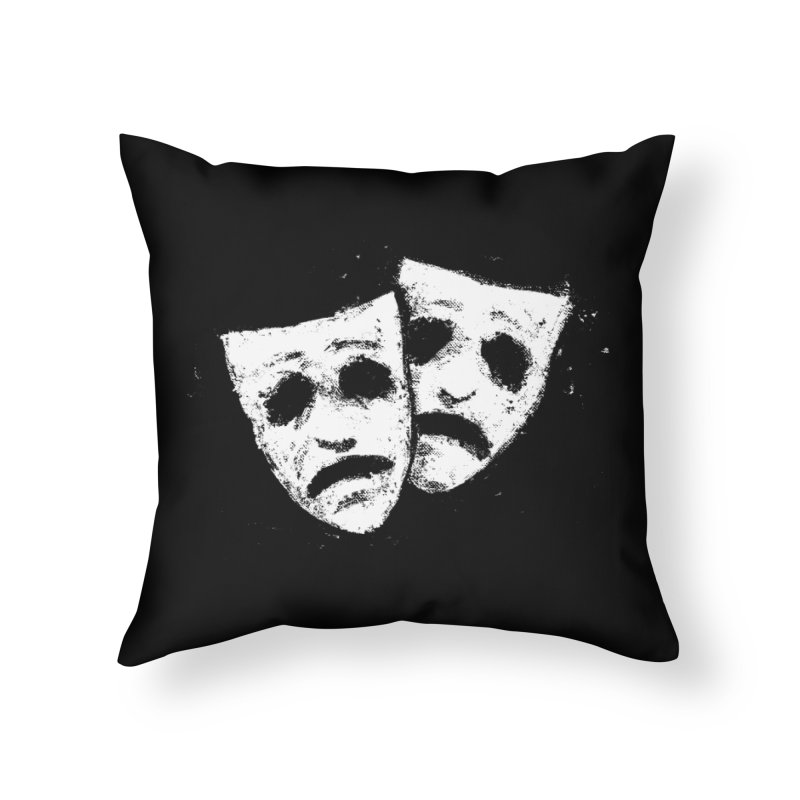 Nothing to Laugh About Home Throw Pillow by Fox Shiver's Artist Shop