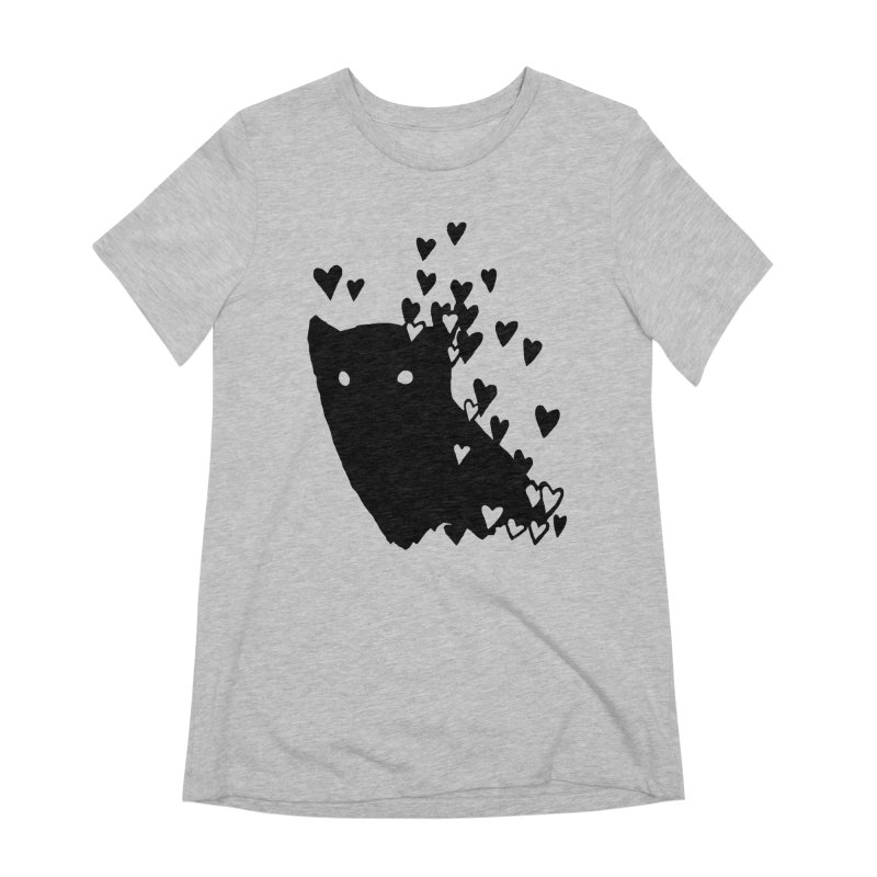 Lovely Women's Extra Soft T-Shirt by Fox Shiver's Artist Shop