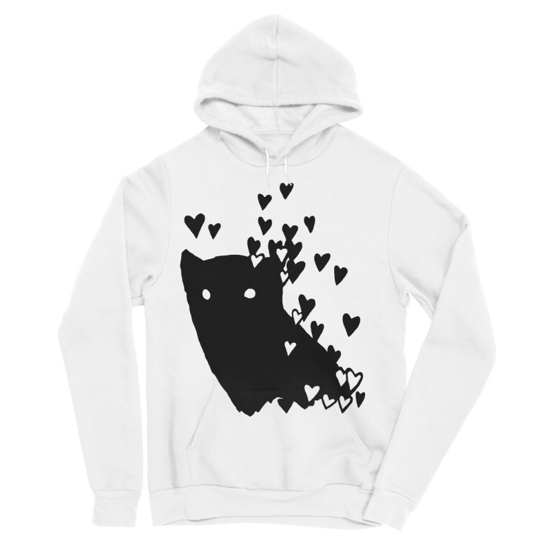 Lovely Women's Sponge Fleece Pullover Hoody by Fox Shiver's Artist Shop