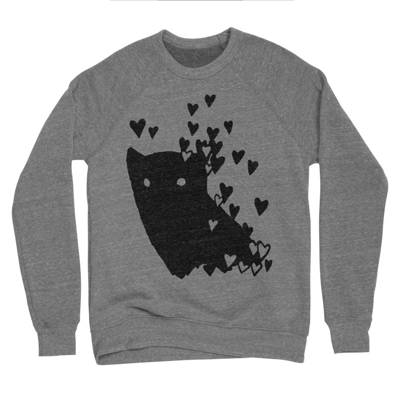 Lovely Men's Sponge Fleece Sweatshirt by Fox Shiver's Artist Shop