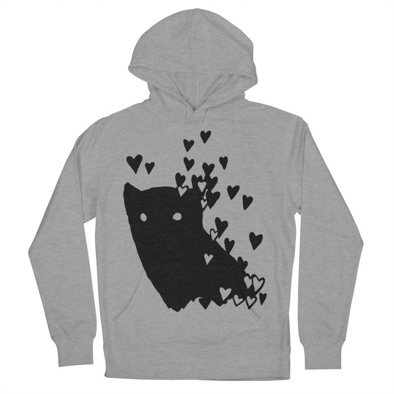 Lovely Women's French Terry Pullover Hoody by Fox Shiver's Artist Shop