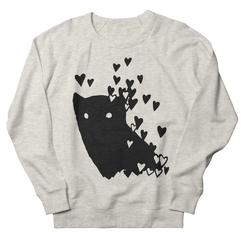 Lovely Women's French Terry Sweatshirt by Fox Shiver's Artist Shop